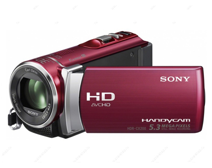 Видеокамера Sony HDR-CX200ER Red